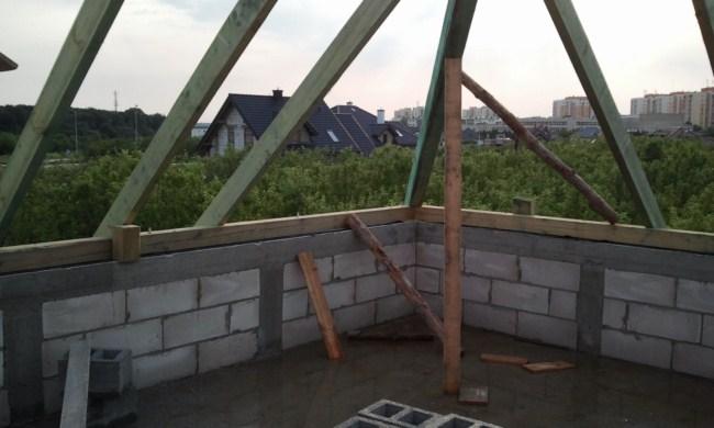 Wiezba Dachowa Nad Sciana Kolankowa Wiezba Dachowa Dach