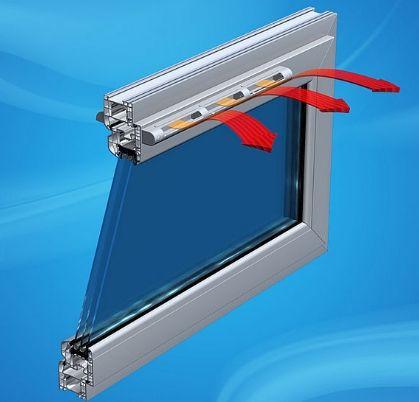 Nawiewniki okienne ciśnieniowe