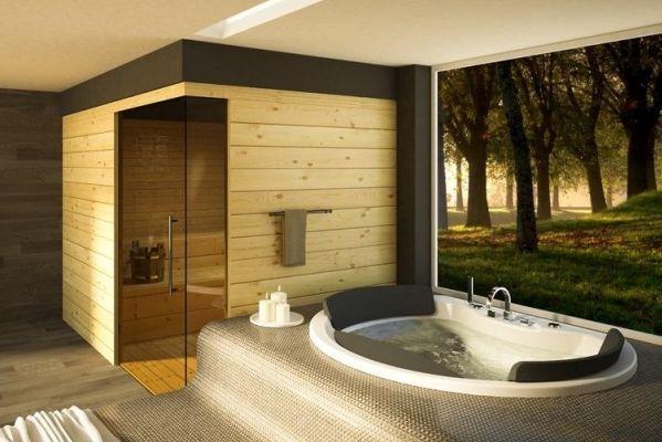 Gdzie Umieścić Saune W Domu łazienki