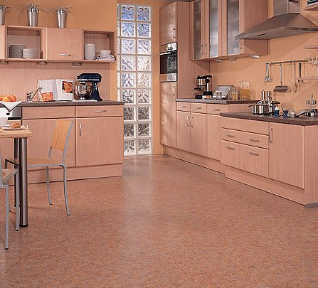 Drewniana podłoga w kuchni  Forumparkietpl