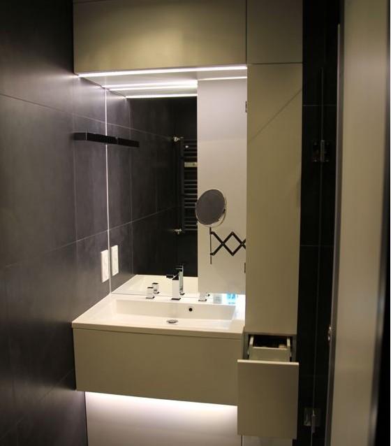 Jakie Oświetlenie Do Ciemnej łazienki łazienki