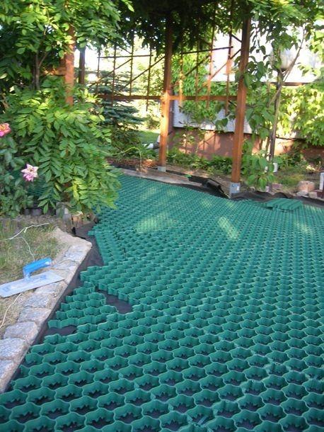 system wzmacniania nawierzchni sypkich i trawy Inovgreen